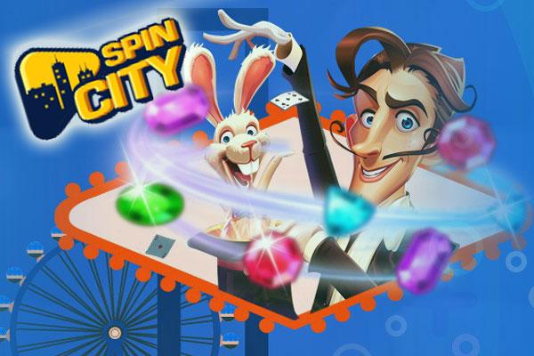 Промокоды на онлайн казино Spin City