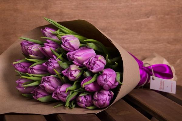 Крафт-букеты цветов