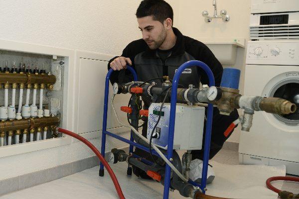 Способы промывки систем отопления