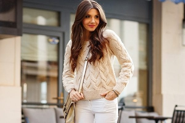 Как выбрать стильную вязаную кофту?