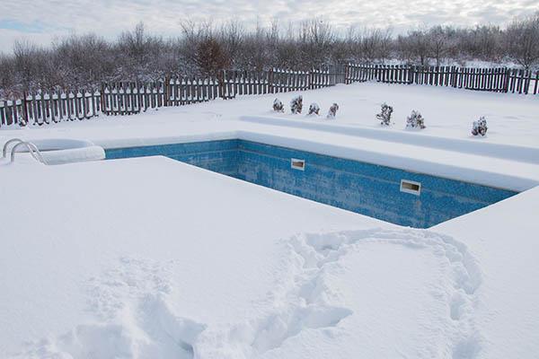 Консервация бассейна в зимний период
