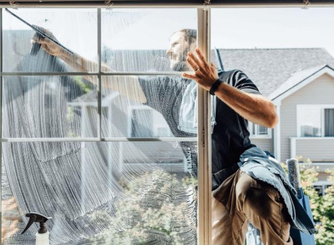 Уборка дома: окна и стекла